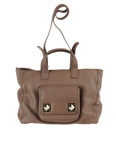 SONIA RYKIEL - Large leather bag
