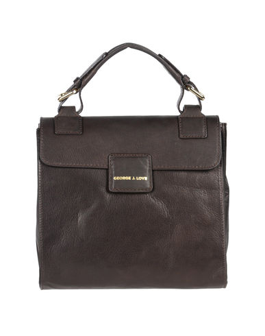 GEORGE J. LOVE - Medium leather bag
