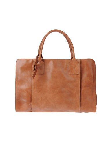 MANUFACTURE D'ESSAI - Large leather bag