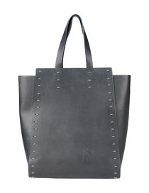 PACO RABANNE - Large leather bag