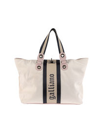 GALLIANO - Large fabric bag