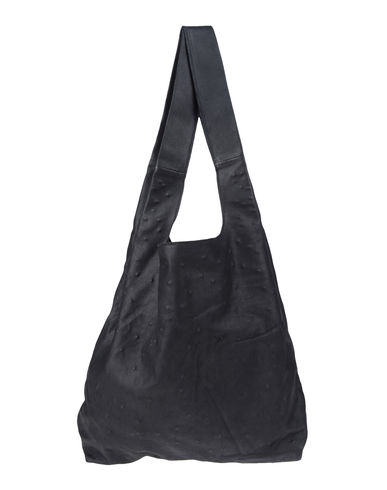 ANN DEMEULEMEESTER - Large leather bag