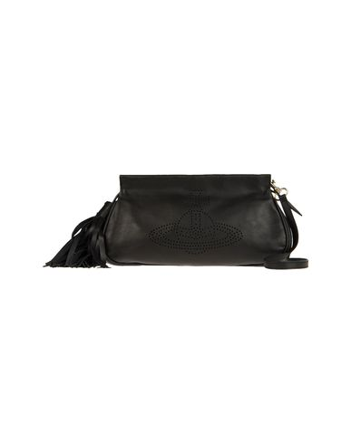 VIVIENNE WESTWOOD - Medium leather bag