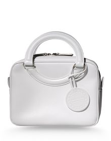 Medium leather bag - COURRÈGES