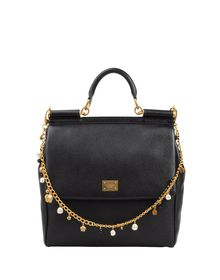Large leather bag - DOLCE & GABBANA