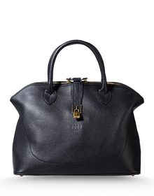Large leather bag - GOLDEN GOOSE