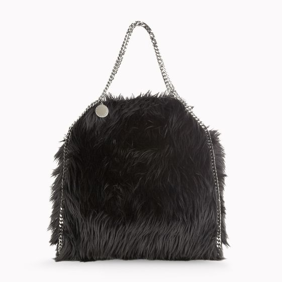 Stella McCartney, Faux Fur Falabella Small Tote