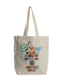 STUSSY - Medium fabric bag