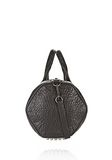ALEXANDER WANG ROCCO IN PEBBLED BLACK WITH BLACK NICKEL Shoulder bag Adult 8_n_d
