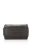 ALEXANDER WANG ROCCO IN PEBBLED BLACK WITH BLACK NICKEL Shoulder bag Adult 8_n_e