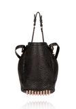 ALEXANDER WANG DIEGO IN BLACK PEBBLE WITH ROSEGOLD Shoulder bag Adult 8_n_d