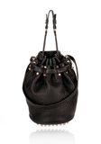 ALEXANDER WANG DIEGO IN BLACK PEBBLE WITH ROSEGOLD Shoulder bag Adult 8_n_f