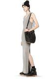 ALEXANDER WANG DIEGO IN BLACK PEBBLE WITH ROSEGOLD Shoulder bag Adult 8_n_r