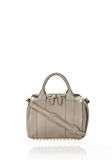 ALEXANDER WANG ROCKIE IN OYSTER SOFT PEBBLE LEATHER W/ PALE GOLD Shoulder bag Adult 8_n_f