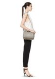 ALEXANDER WANG ROCKIE IN OYSTER SOFT PEBBLE LEATHER W/ PALE GOLD Shoulder bag Adult 8_n_r