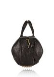 ALEXANDER WANG ROCCO IN BLACK PEBBLE WITH ANTIQUE BRASS Shoulder bag Adult 8_n_d