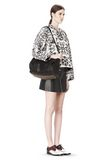 ALEXANDER WANG ROCCO IN BLACK PEBBLE WITH ANTIQUE BRASS Shoulder bag Adult 8_n_r