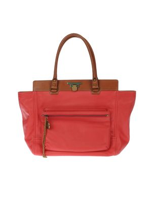 LANVIN - Large leather bag