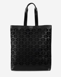 Y-3 - Large leather bag