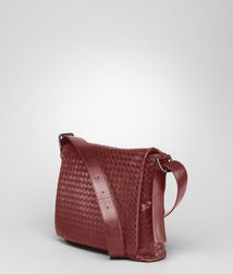 Messenger BagBagsLeatherRed Bottega Veneta
