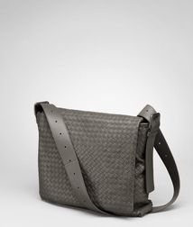 Messenger BagBagsLeatherBlue Bottega Veneta