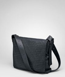 Messenger BagBagsLeatherBlue Bottega Veneta®