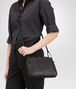 BOTTEGA VENETA MESSENGER BAG IN NERO INTRECCIATO NAPPA Crossbody bag D ap
