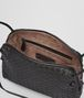 BOTTEGA VENETA MESSENGER BAG IN NERO INTRECCIATO NAPPA Crossbody bag D dp