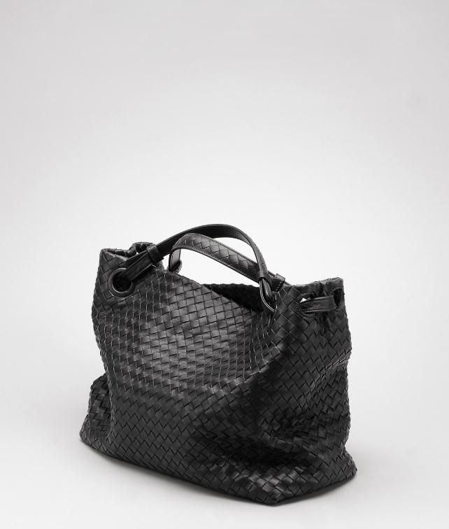BOTTEGA VENETA Ebano Intrecciato Nappa Bag Shoulder or hobo bag D fp