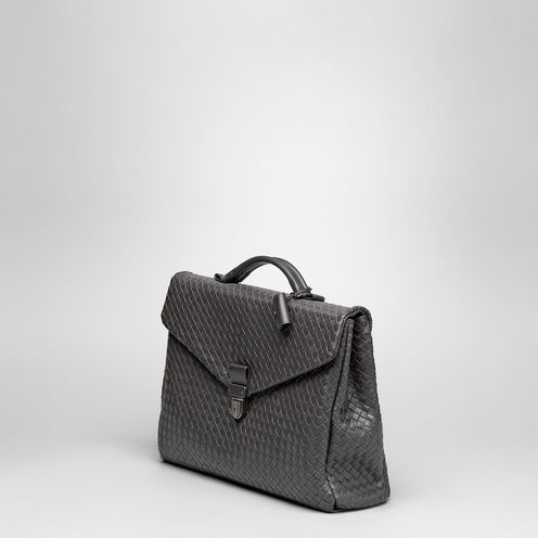 BriefcaseBagsLeatherBrown Bottega Veneta