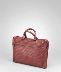 BriefcaseBagsLeatherRed Bottega Veneta®