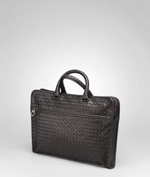 BriefcaseBagsLeatherRed Bottega Veneta
