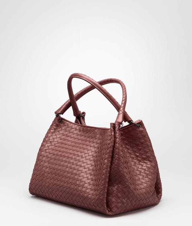 BOTTEGA VENETA Ebano Intrecciato Nappa Parachute Bag Shoulder or hobo bag D fp