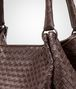 BOTTEGA VENETA Ebano Intrecciato Nappa Parachute Bag Shoulder or hobo bag D ep