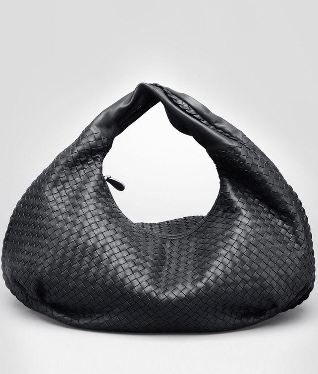 Nero Intrecciato Nappa Bag