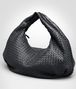 BOTTEGA VENETA Nero Intrecciato Nappa Bag Shoulder or hobo bag D rp