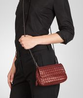 Bottega Veneta® Intrecciato Nappa Messenger Mini Bag
