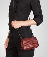 Intrecciato Nappa Messenger Mini Bag