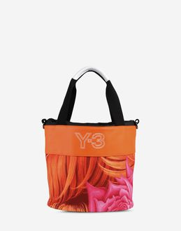 Y-3 - Mittelgrosse Stofftasche