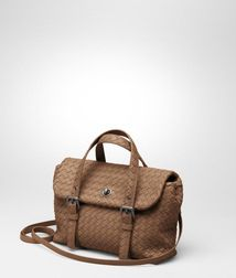 Top Handle BagBagsNappa leatherBrown Bottega Veneta®