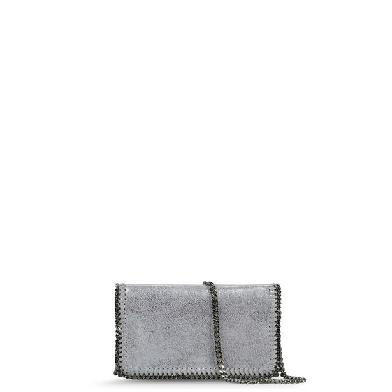 Stella McCartney, Petit sac en bandoulire Falabella en chamois
