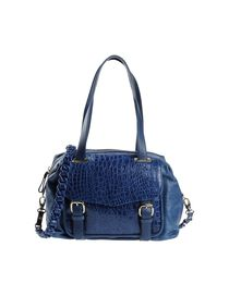 JUST CAVALLI - Large leather bag