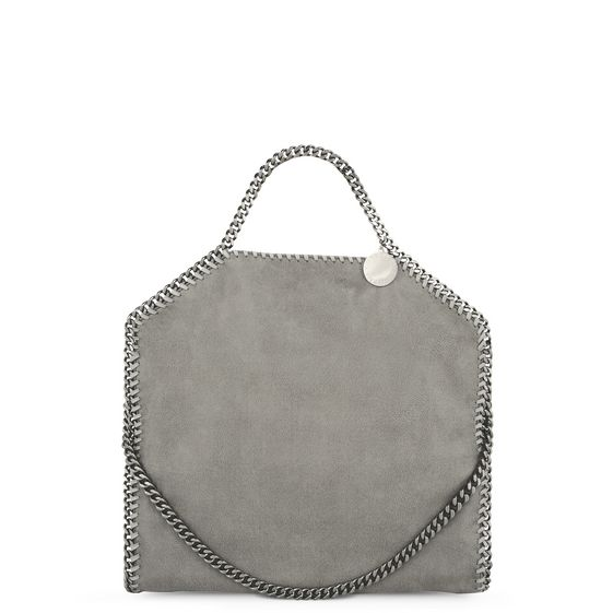 Stella McCartney, Tote Bag Pieghevole Falabella in Daino Ruvido 