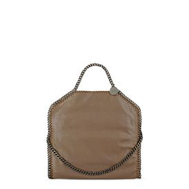 STELLA McCARTNEY, Shoulder Bag, Falabella Chamois Fold Over Tote