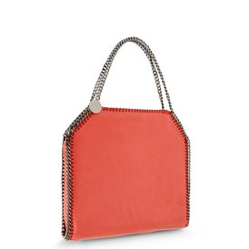 STELLA McCARTNEY, Tote bag, Tote Bag Piccola Falabella in Daino Ruvido