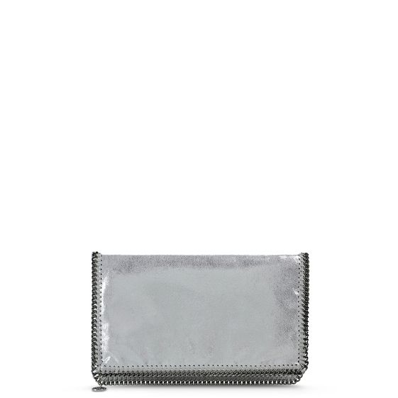 Stella McCartney, Falabella Chamois Fold Over Clutch