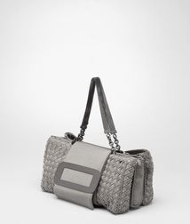 Top Handle BagBagsTextile fibersRed Bottega Veneta®
