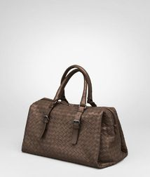 Top Handle BagBagsCalf-skin leatherBrown Bottega Veneta®