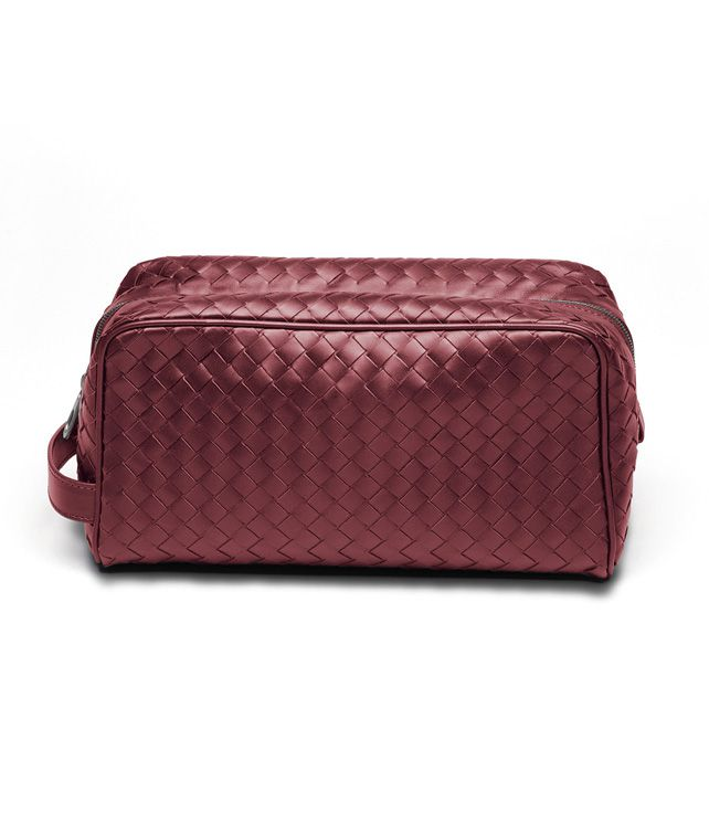 Vermillon Intrecciato VN Toiletry Case