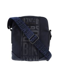 BIKKEMBERGS - Medium fabric bag